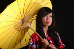 Young Beautiful Asian Woman Royalty Free Stock Photo