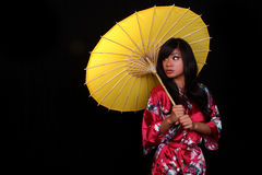 Young Beautiful Asian Woman Royalty Free Stock Images