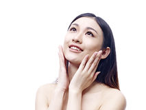 Young and beautiful asian woman Stock Photography