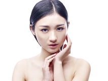 Young and beautiful asian woman Stock Image