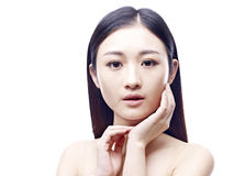 Young and beautiful asian woman Royalty Free Stock Images