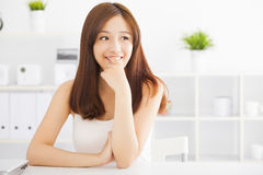 Young beautiful asian woman Royalty Free Stock Photography
