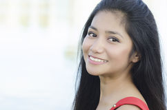 Young beautiful Asian woman Stock Image