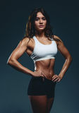 Young beautiful athletic woman Stock Photo