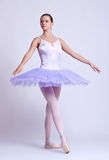 Young beautiful ballerina royalty free stock image