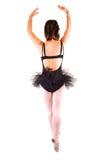 A young beautiful ballerina dancing. Royalty Free Stock Photos