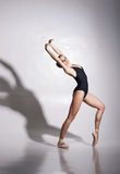 Young and beautiful ballerina with a perfect body Stock Photo