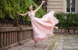 Young beautiful ballerina Stock Images