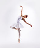 Young beautiful ballet dancer. Young and beautiful ballet dancer royalty free stock image