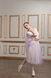 Young and beautiful ballet dancer posing in Royalty Free Stock Photo