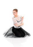Young beautiful ballet dancer Stock Photography