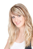 Young beautiful blond woman Royalty Free Stock Image