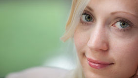 Young beautiful blond woman Royalty Free Stock Photos