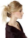 Young beautiful blond woman Stock Photos