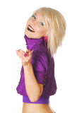 Young beautiful blonde Royalty Free Stock Photography