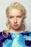 Young beautiful blonde Royalty Free Stock Photo