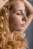 Young beautiful blonde Stock Photography