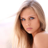 Young Beautiful Blonde Woman Royalty Free Stock Images