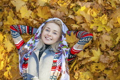 Young beautiful blonde woman Royalty Free Stock Photography