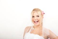 Young beautiful bride Royalty Free Stock Photos