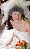 Young Beautiful Bride Stock Image