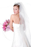 Young beautiful bride Royalty Free Stock Image