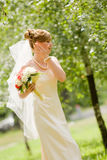 Young beautiful bride Stock Photos