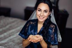 Young Beautiful bride Stock Photo