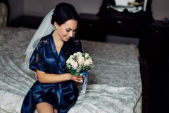 Young Beautiful bride Royalty Free Stock Photo