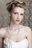 young beautiful bride Stock Photography
