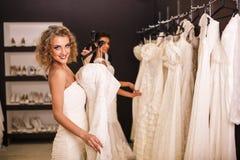 Young beautiful brides Royalty Free Stock Photo
