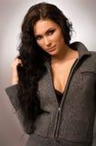 Young beautiful brunette woman Stock Image