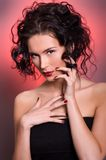 Young beautiful brunette woman Royalty Free Stock Photography