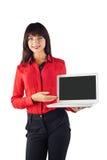 Young beautiful business woman Stock Photos
