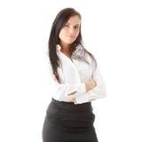 Young beautiful businesswoman Stock Photos