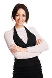 Young beautiful businesswoman Stock Images