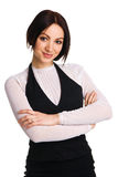 Young beautiful businesswoman Royalty Free Stock Images