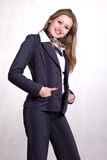 Young  beautiful businesswoman Stock Photo
