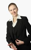 Young beautiful businesswoman Royalty Free Stock Photography