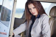 Young beautiful businesswoman Stock Photo