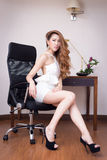 Young beautiful Businesswoman Royalty Free Stock Photos