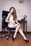 Young beautiful Businesswoman Royalty Free Stock Image
