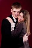 Young beautiful couple Royalty Free Stock Photos