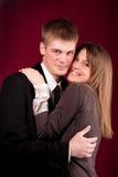 Young beautiful couple Stock Image