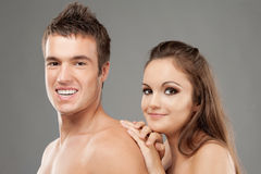 Young beautiful couple Stock Photo
