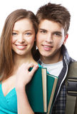 Young beautiful couple Stock Photography