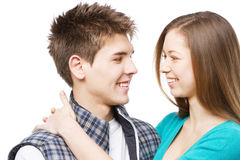 Young beautiful couple Royalty Free Stock Photos