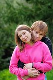Young beautiful couple Stock Image