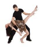 Young beautiful couple dancing Royalty Free Stock Photo