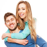 Young beautiful couple Stock Images
